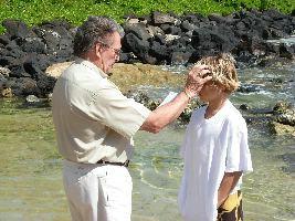 Curren's Baptism