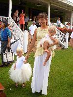 Summer Dillberg and children