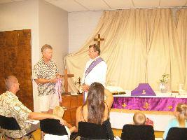 Honoring Pastor Frank